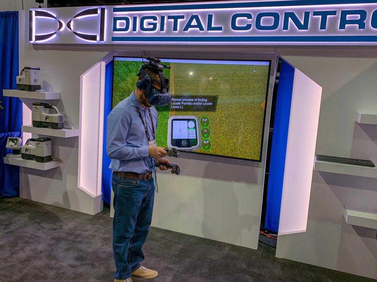 Simulation localisation Digital Control