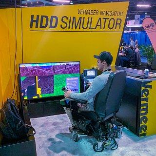 Simulation de forage dirigé